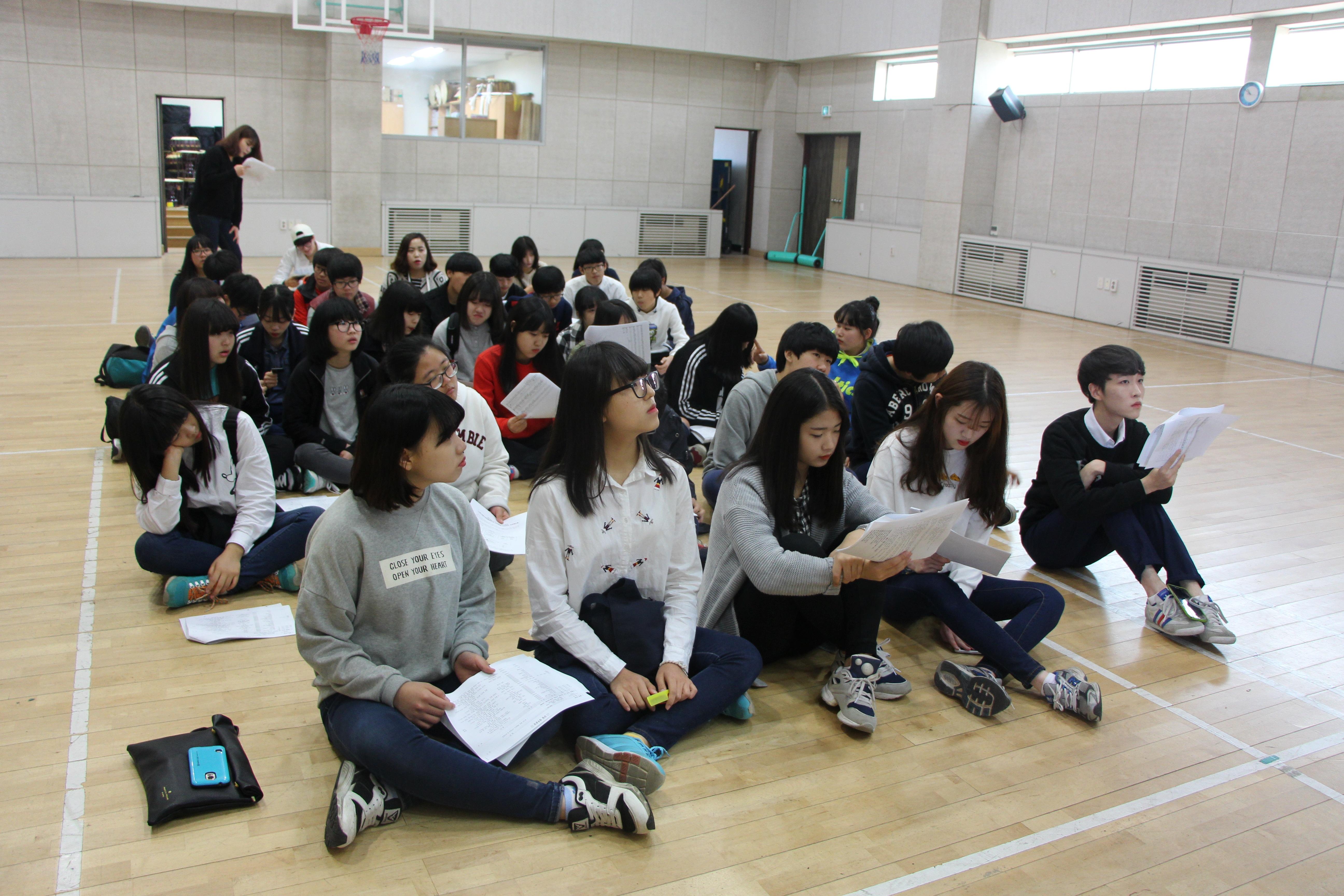 2015 나주청소년어울림마당 개막식 참여