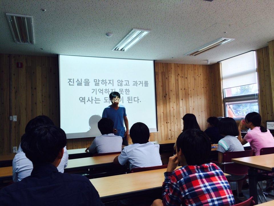 나주학생독립운동기념관 '찾아가는 역사교실' 참여